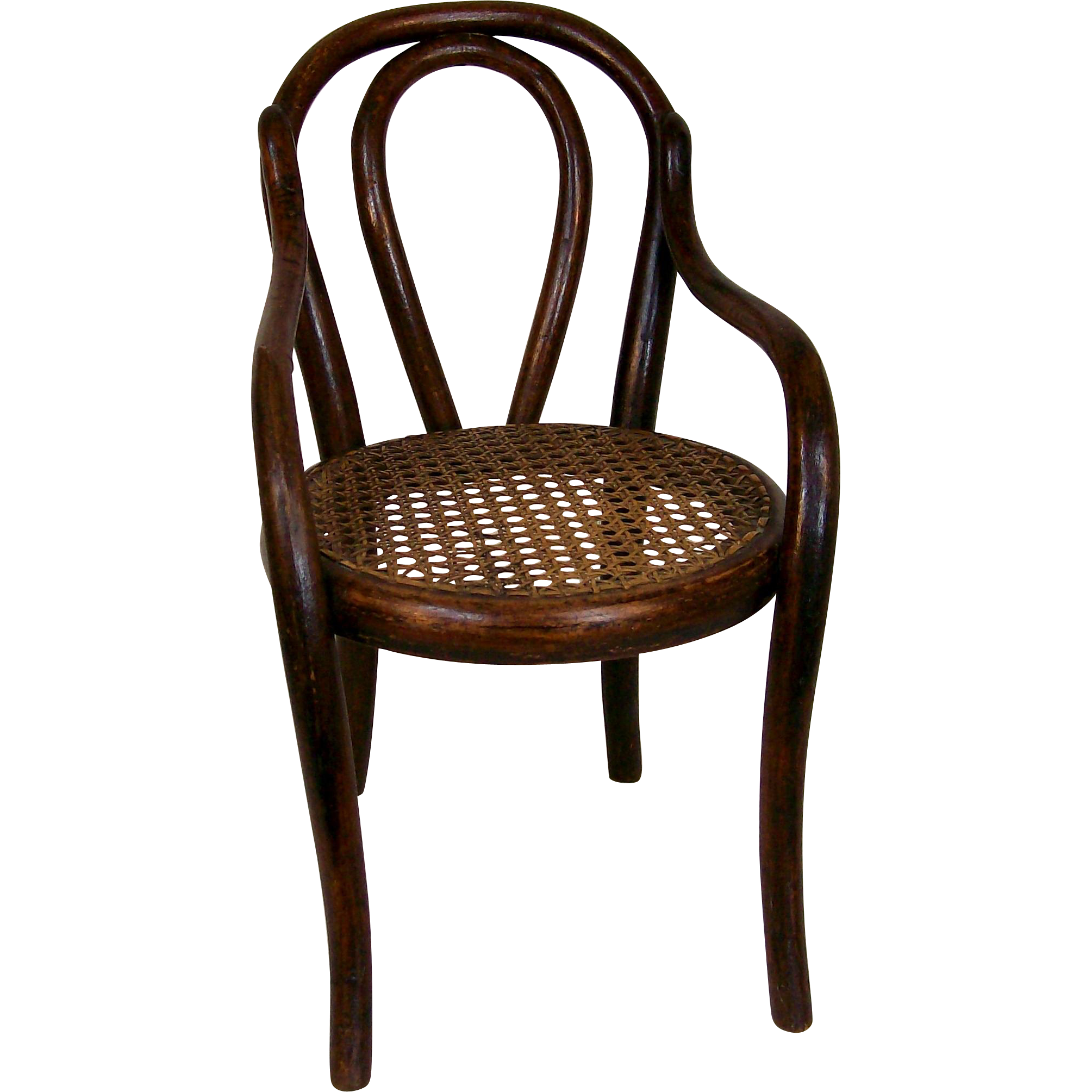 antique thonet style bentwood doll 39 s chair from deesdolls on ruby lane. Black Bedroom Furniture Sets. Home Design Ideas