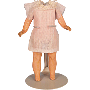 """5"""" Antique German Doll Body with Factory Chemise"""