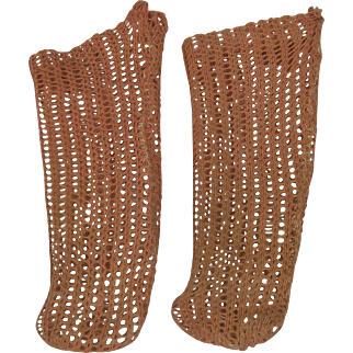 Antique Factory Original Open Weave Doll Socks