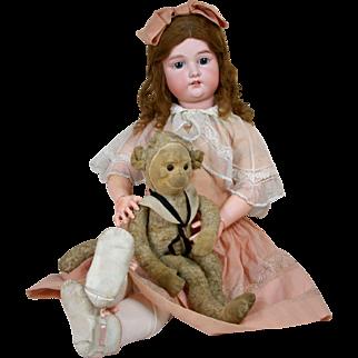 Beautiful Life Size German Child Doll - A15M