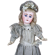 "16 1/2"" Sonneberg-Type Doll Marked - 5"