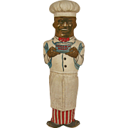 "1940's Vintage Cream of Wheat Cloth Advertising Doll ""Rastus"""