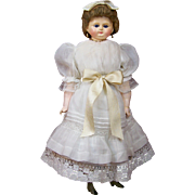 Wonderful Large German Wax-Over-Composition Doll
