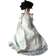 Stunning Antique German ARMAND MARSEILLE Floradora Doll with Original Clothing