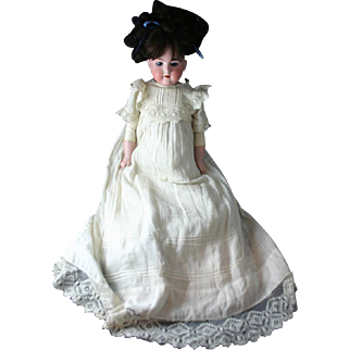 Stunning Antique German ARMAND MARSEILLE Floradora Doll with Original Clothing