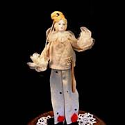 Charming Vintage PIERROT Dancing Doll All Original