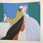 Rare ART DECO French Pochoirs by Max Ninon Paris Expo