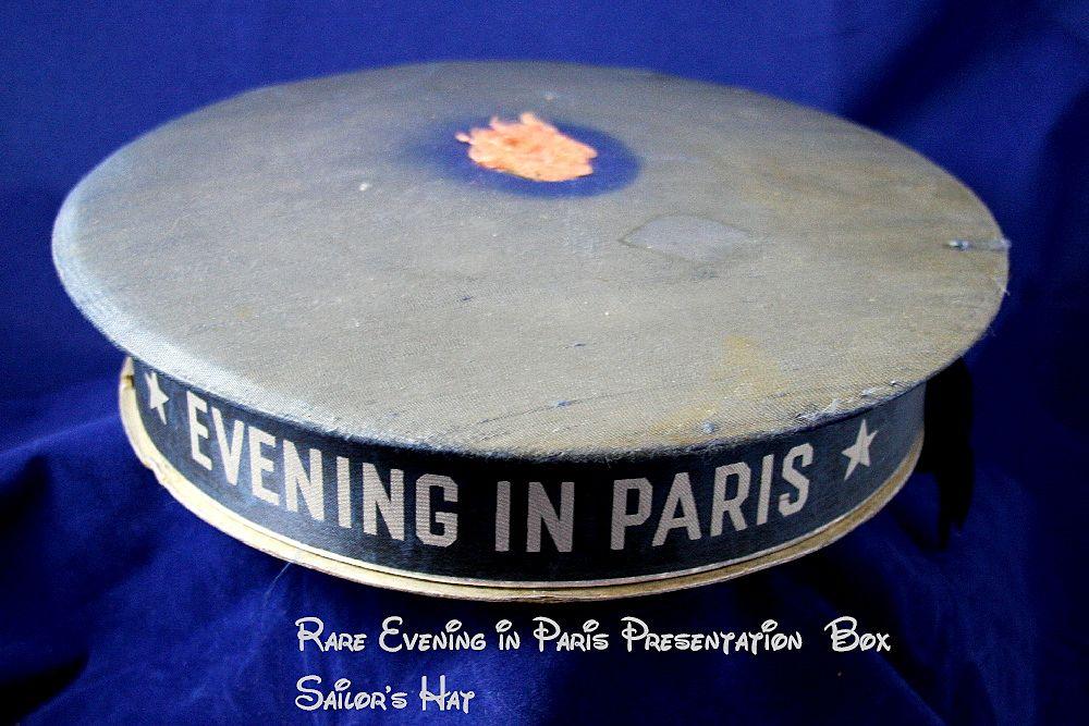 RARE EVENING IN PARIS Sailor's Hat Perfume Presentation