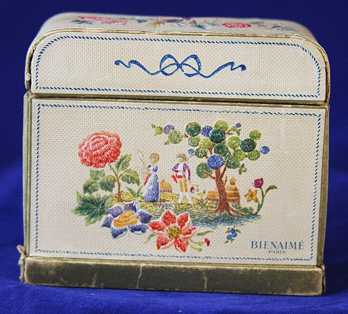 BIENAIME Paris Art Deco Perfume Set in Original Box