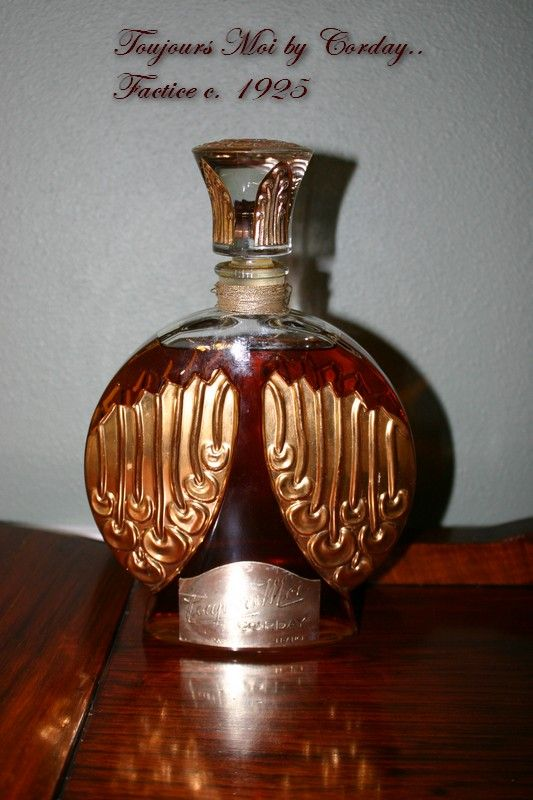 RARE French Factice Perfume Bottle TOUJOURS MOI by Corday