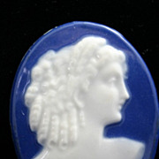 Rare LIMOGES Pate sur Pate Cameo by Camille Tharaud