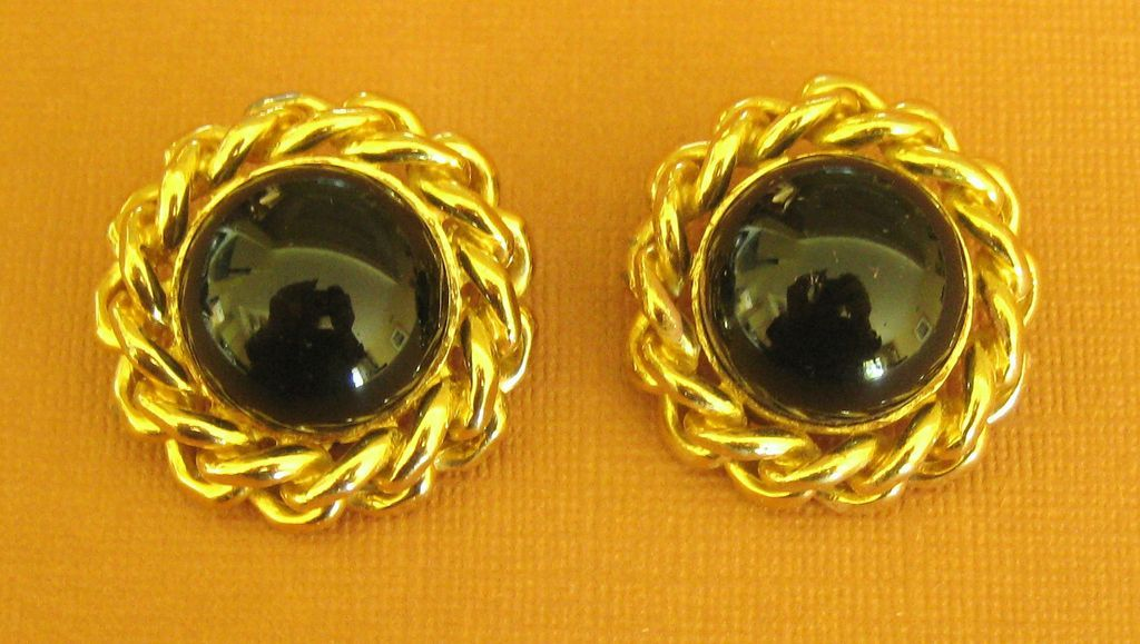 Bold sophisticated vintage ciner clip style earrings del for Jewelry making classes san diego