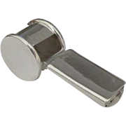 Sleek Full Size Working Sterling Whistle