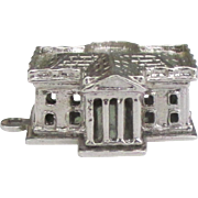 Dimensional Sterling White House Charm