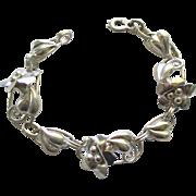 Vintage Sterling GF Carl Schraysshuen Carl-Art Bracelet