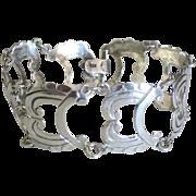 Fabulous Vintage Sterling Open Link Bracelet