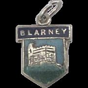 Vintage Sterling Blarney Castle Ireland Charm