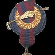 Vintage Estate Polo Match Medal Ribbon