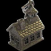 Vintage Wells Sterling School House Charm