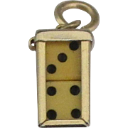 Vintage Mini Dice with Case Mechanical Charm