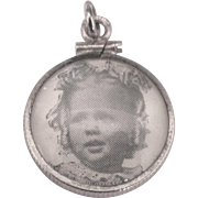 Sterling Photo Frame Pendant or Charm