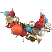 Flirty Loaded Bead Beach Theme Bracelet