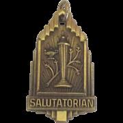 Vintage Salutatorian GF Medal
