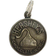 Vintage Hershey's Chocolate World Sterling Charm