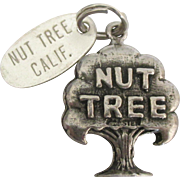 Vintage Sterling Nut Tree California Restaurant Charm