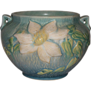 Roseville Pottery Clematis Jardiniere