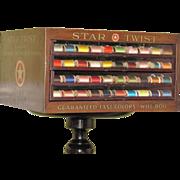 Star Sewing Thread Spool Cabinet