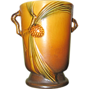 "Roseville Pine Cone Vase #704-7"""