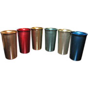 Multicolored Aluminum Tumblers