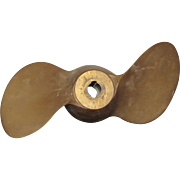 Brass Boat Propeller