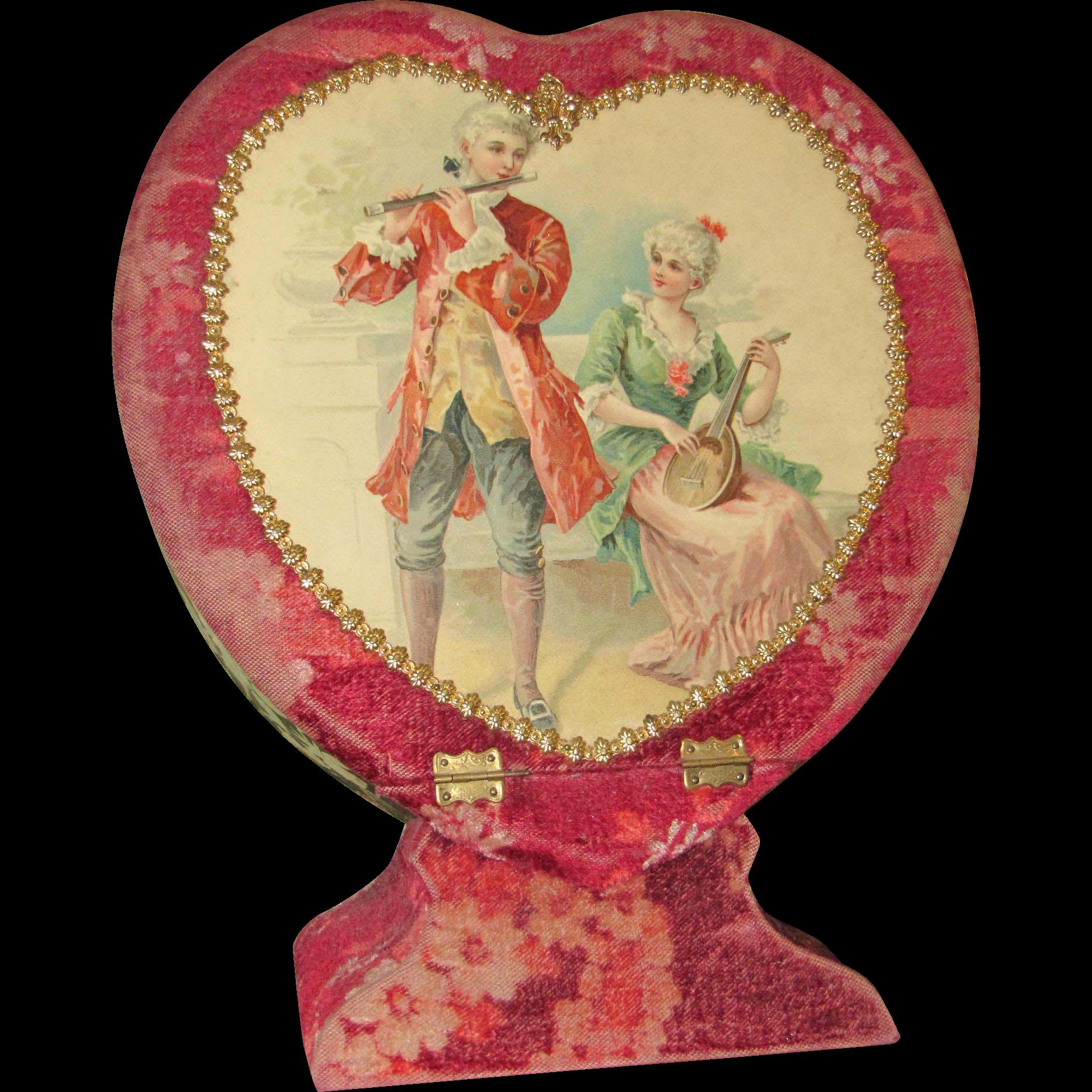 Victorian Vanity Set Case From Rubylane Sold On Ruby Lane
