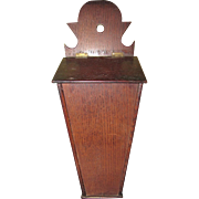 Wooden Candle Box