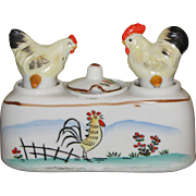 Nodder Hen & Rooster Salt & Pepper Shakers