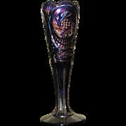 Fenton Pinwheel Bud Vase