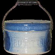 Salt Glaze Butter Crock