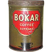 Bokar Coffee Tin