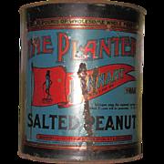 1918 Planters Peanut Tin