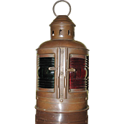 Nautical Lantern Bow Light