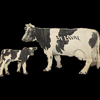 De Laval Cream Separator Tin Advertising