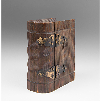 Souvenir Black Forest(in the style of) Carved Book Box