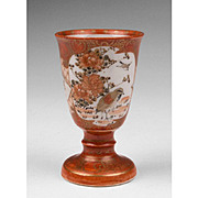 Japanese Porcelain Stem Cup