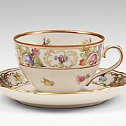 Schumann Bavaria Germany U. S. Zone Cup & Saucer, Empress Pattern