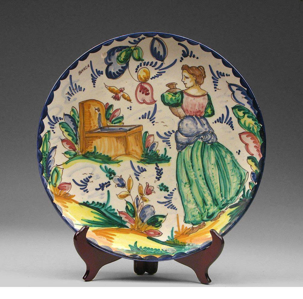 Spanish Majolica Charger