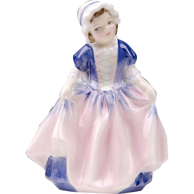 Royal Douton Figurine, Dinky Doo, H. N. 1678