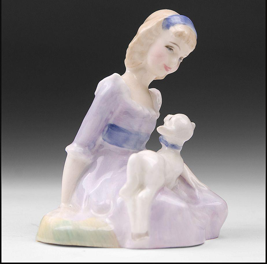 Royal Doulton Figurine, Mary Had A Little Lamb, H. N. 2048