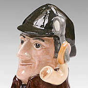 Royal Doulton Character Jug, The Sleuth, D. 6635